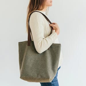 Twig&Horn Original Wool Project Tote