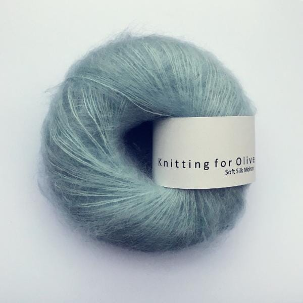Petroleumsgrønn Knitting for Olive Soft Silk Mohair
