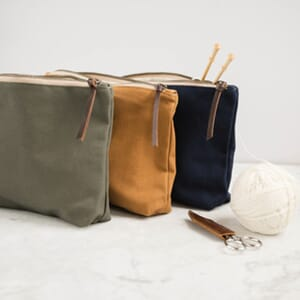Twig&Horn Canvas Tool Pouch