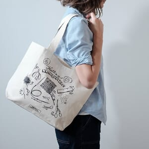Fringe Supply Knitting Necessities tote bag