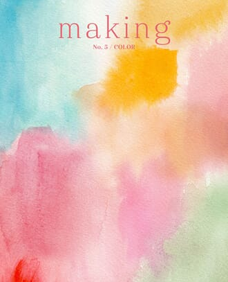 Making Magazine No.5/ Colors