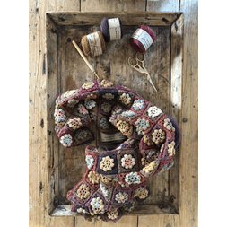 Mehlsen Flower Power Scarf Kit - Autumn