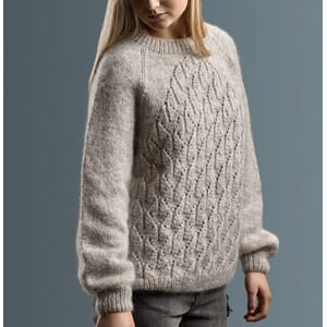 Sanne Fjalland Lotus sweater kit