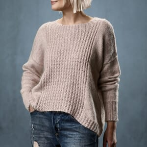 Sanne Fjalland Iris sweater oppskrift