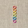 cocoknits-small-coloured-ring-stitch-markers 2