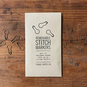 Fringe Supply Removable Stitch Markers