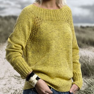 Sanne Fjalland Eyelet sweater kit