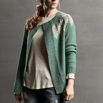Sanne Fjallland Bird cardigan kit