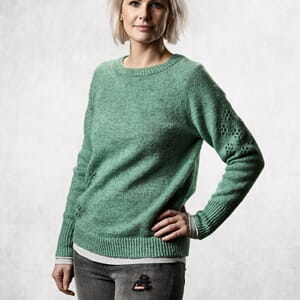 Sanne Fjalland Flower sweater kit