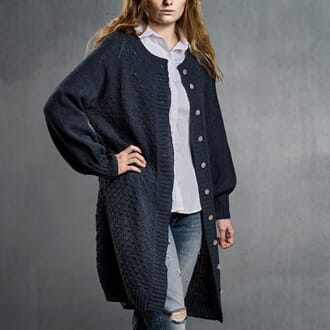 Sanne Fjalland Drop cardigan kit